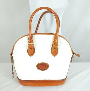 Dooney & Bourke Pebble Leather Dome Purse Bag